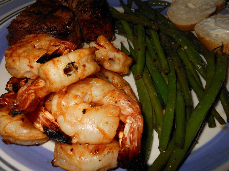 Chipotle Marinated Grilled Shrimp | Charles and Kimberly's Recipes