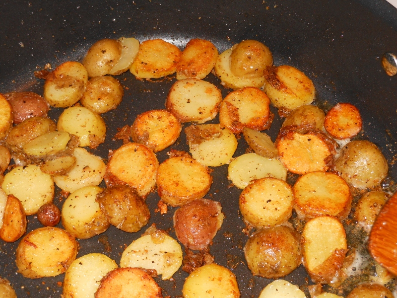 Skillet Fried Potatoes | Charles and Kimberly's Recipes